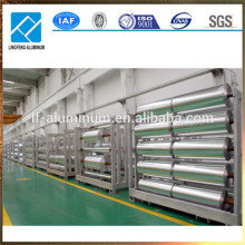 Rollos más grandes de papel aluminio de calidad alimentaria 8011 8079 1235 con precio de fábrica