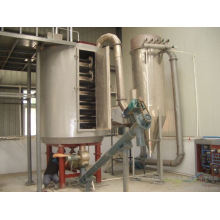 2017 PLG series continual plate drier, SS fluidized bed, vertical electric oven
