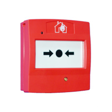 Ponto de chamada manual endereçável com caixa montada