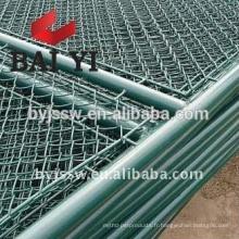 Panneaux de clôture de lien de la Chine utilisée, clôture en gros de maillon de chaîne, portes utilisées de barrière de maillon de chaîne
