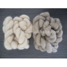 100% pure dehaired Mongolian cashmere fiber tops