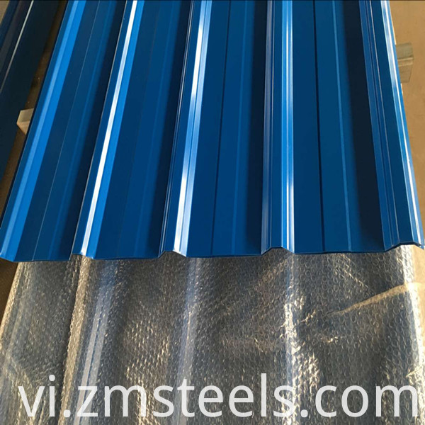 Trapezoidal Metal Roofing Sheet