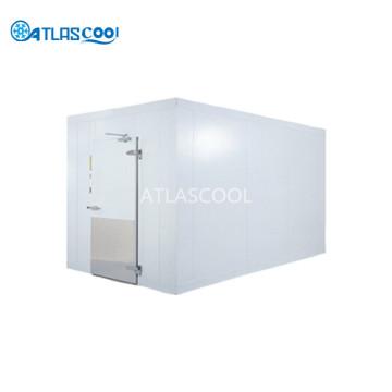 Sala de almacenamiento en frío de alimentos congelados