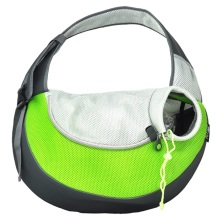 Green Large PVC e Mesh Pet Sling