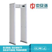 LCD touch screen walk through detector de metal para uso ao ar livre detector de metais