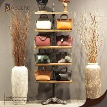 Wooden Furniture Shoes Bags Show Display Stand