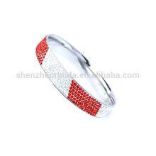 Bracelets de mariage en cristal australien colorés pour femmes