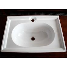 Louças sanitárias brancas personalizadas de alta qualidade da melamina (CP-013)