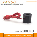 Red Flying Leads pneumatik Solenoid gegelung Electric