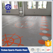 gym floor mat pvc sports flooring