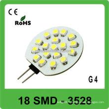 Round 18 SMD 3528 Lampe LED DC12V G4 pour bateau