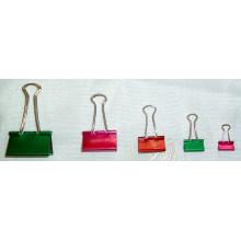 Pinces pour reliures métalliques couleur