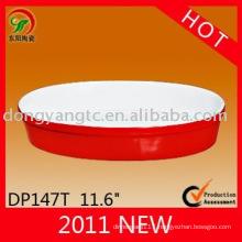 Factory direct wholesale stoneware glaze oven plate