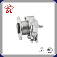 Sanitary Stainless Steel Air Blow Check Valve with Hose Nipple