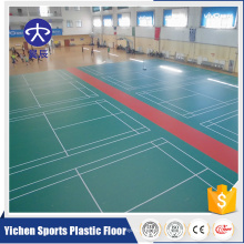 Organic and 100% pure PVC virgin raw materials pvc sport floor wholesale