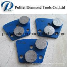 Diamond Grinding Pad with Round Circle Concrete Grinding Segment