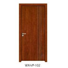 Конкурентная деревянная дверь (WX-VP-102)