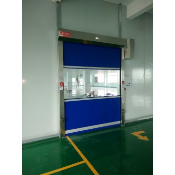 Industriell Automatisk Rolling PVC Interiör High Speed ​​Door
