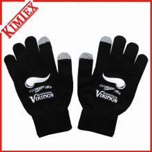 Свободная акриловая трикотажная перчатка для промотирования