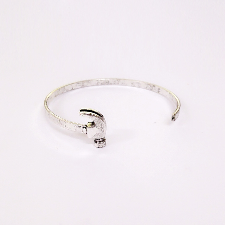 Cuff Tools Bangle Stainless Steel Hammer Bangle Bracelet