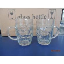 22oz 625ml Pineapple Glass Mug with Handle