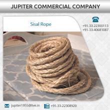 Cuerdas duras y confiables del sisal de 3 filamentos disponibles para la compra a granel