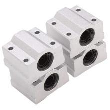 Custom Aluminum Linear Motion Ball Bearing Block Bushing