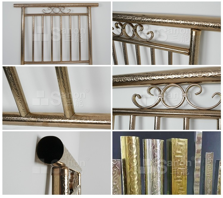 Railing Design Grade 304 Stainless Steel Pipe For Balcony Railing Prices