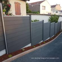 Garden House WPC Plastic Balcony Fence Wood Plastic Composite Fence/Ourdoor lattie fence