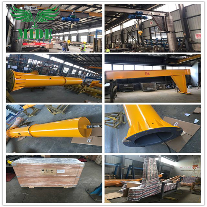 workshop cantilever stationary jib crane
