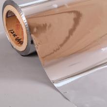 Película PET metalizada de 6 microns para laminação de placas de papel