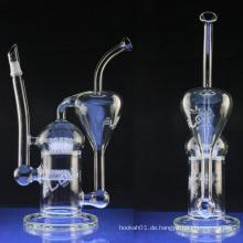 Großhandel Recycler Öl Rig für Tabak mit Sprinkler (ES-GB-004)