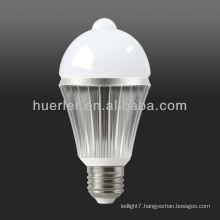 high quality with cheap price E27 led motion sensor bulb 7w