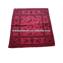 fashional 100% cotton bandana