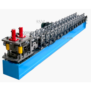 High Speed Metal Shutter Door Roll Forming Machine Line