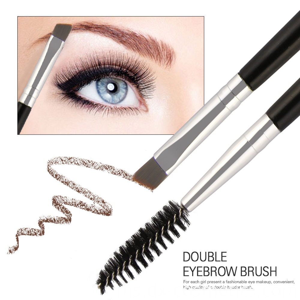 Double Head Eyebrow Makeup Brush 2
