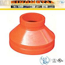 Encaixes concêntricos sulcados nodulares do redutor ASTM-A536 300 Psi ferro