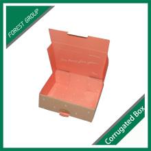 Heißer Verkaufs-kundenspezifischer gedruckter gewölbter Kasten-gewölbter Paket-Verpackungs-Kasten