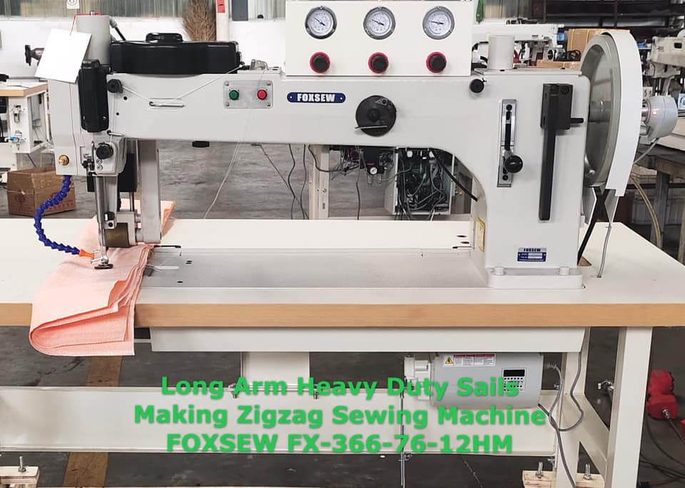 Long Arm Heavy Duty Sails Making Zigzag Sewing Machine -1