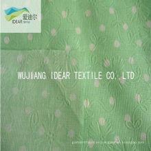 Burbuja de flor de algodón Seersucker tela para ropa de impreso 100%
