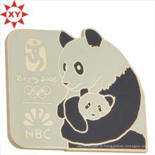 Panda de marqueur de livre de promotion en métal Panda de bébé