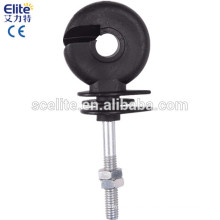 Electric fence energizer post screw-in Insulators