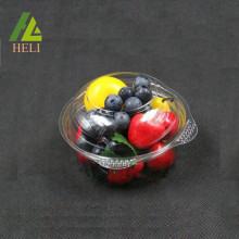 Disposable Plastic Fruit Salad Strawberry Container