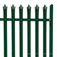 ПВХ пластик зеленый пояс пластиковый частокол садовый забор