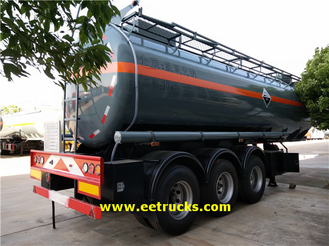 Sodium Hydroxide Trailer