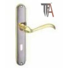 Simple New Design for Iron-Aluminium Door Handle