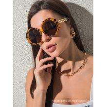 Large Frame Polygonal Retro Sunglasses Fashion Glasses for Men Women