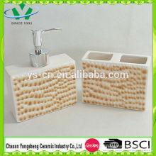 Novo design elemento de moda leopardo casa de banho de impressão