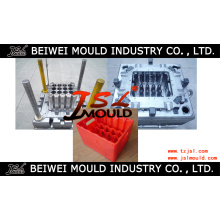 Custom Injection Plastic Beer Bottle Crate Mold Tooling