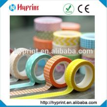 fita de papel washi impresso personalizado feita em China